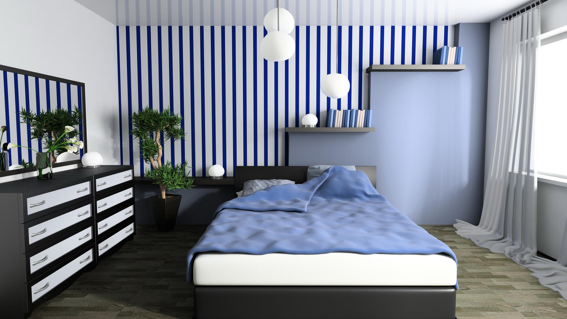 Как подобрать мебель для спальни, чтобы комната казалась больше