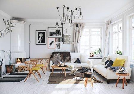 скандинавский стиль мебели