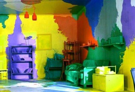Выбираем интерьерную краску для стен
