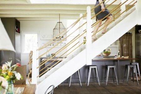 Веревки и канаты в жилых интерьерах