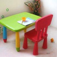 стул и стол детский