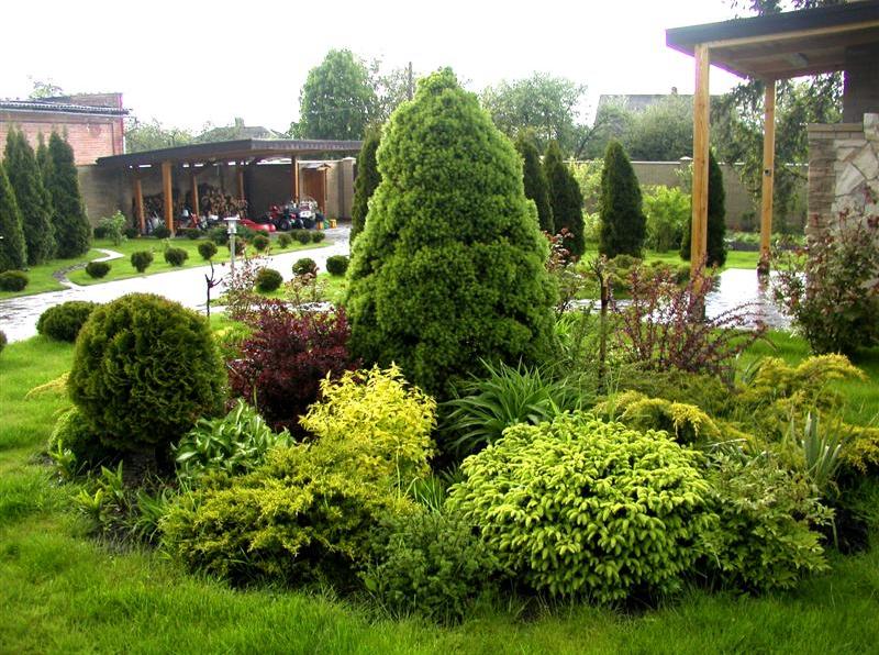 Садовый участок и ландшафтный дизайн – совместимы?