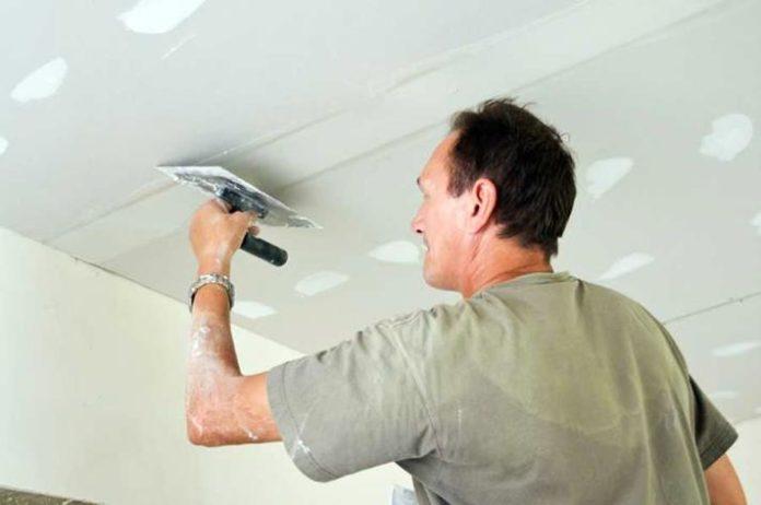 Как подготовить потолок к ремонту
