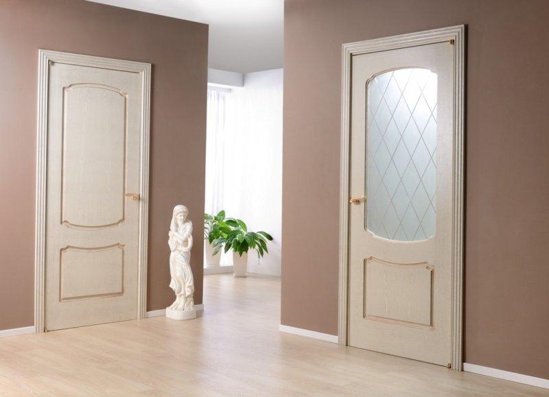 смотреть межкомнатные двери фото