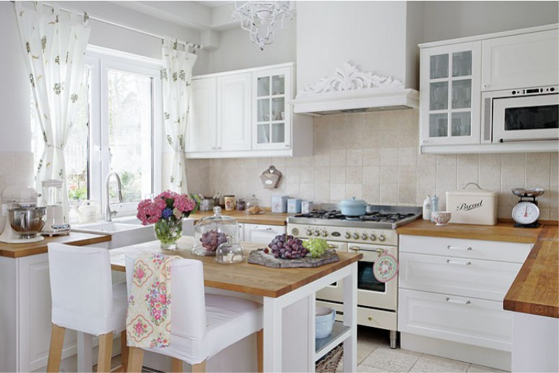 кухни фото стиль прованс