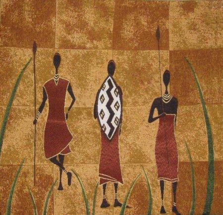 Гобелены восточной и африканской тематики в интерьере