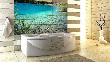 Дизайн ванной комнаты Фотоплитка