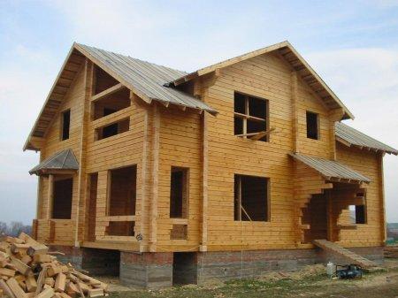 Профилированный брус как материал для строительства домов