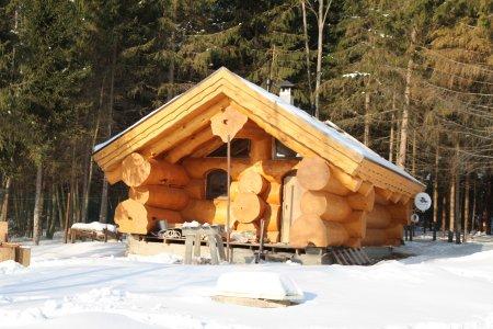 Типы соединений деревянных бревен