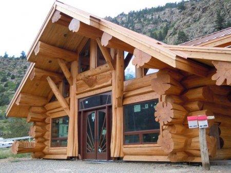 Деревянные дома из кедра