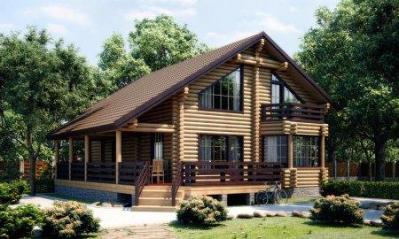 От чего зависит проект деревянного дома