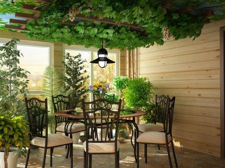 Зимний сад дома — реальность