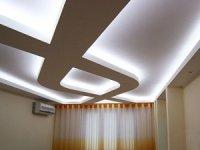 Способы подсветки потолочных ниш