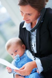Есть ли место ребёнку в жизни деловой женщины?