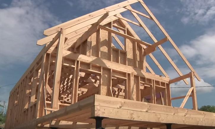 Каркасный дом – особенности строительства