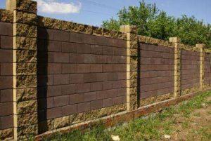 Строительство заборов. Специфика бетонных заборов