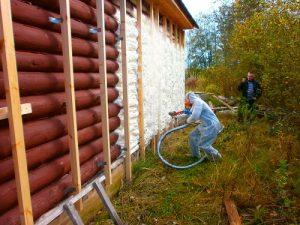 Технология утепления домов пеноизолом в Новороссийске