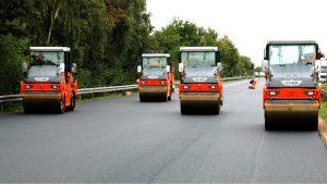 Асфальтирование дороги: цена под ключ
