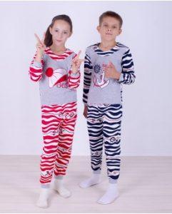 С Детскими пижамами от производителя olioli.com.ua — ваши дети всегда будут высыпаться