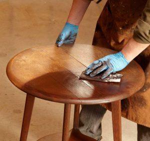 Этапы восстановления мебели